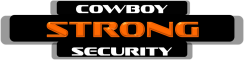 Cowboy Strong Security Logo
